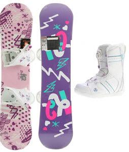K2 Grom Snowboard 120 w/ Bindings/Boots