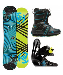 K2 Mini Turbo Snowboard w/ Mini Turbo Boot/Binding