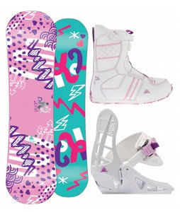 K2 Lil Kandi Snowboard 100 w/ Lil Kat Boot/Binding