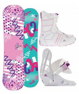 K2 Lil Kandi Snowboard 100 w/ Lil Kat Boot/Binding