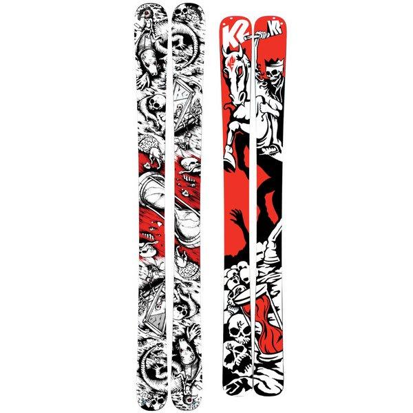 K2 Hell Bent Skis w/ Marker Griffon Schizo Bindings
