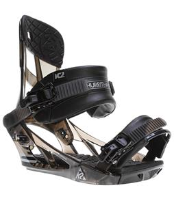 K2 Hurrithane Snowboard Bindings Black Smoke