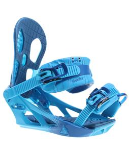K2 Hurrithane Snowboard Bindings Blue