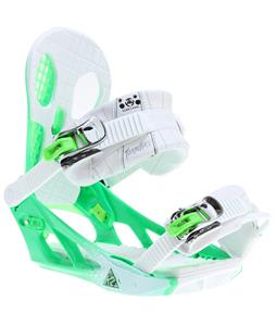 K2 Hurrithane Snowboard Bindings White