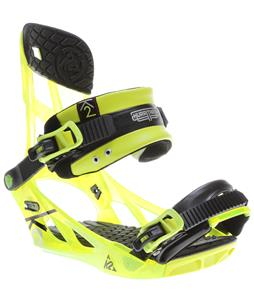 K2 Hurrithane Snowboard Bindings Yellow