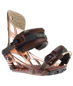 K2 Hurrithane Snowboard Bindings Root Beer