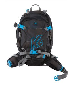 K2 Hyak Backpack Black/Blue