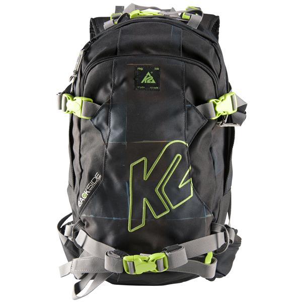 K2 Hyak Backpack Black/Green Kit 15L