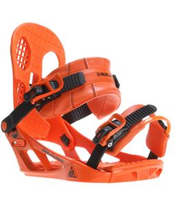 K2 Indy Snowboard Bindings Orange