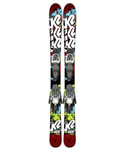 K2 Indy Kids Skis w/ Marker Fastrak2 4.5 Bindings