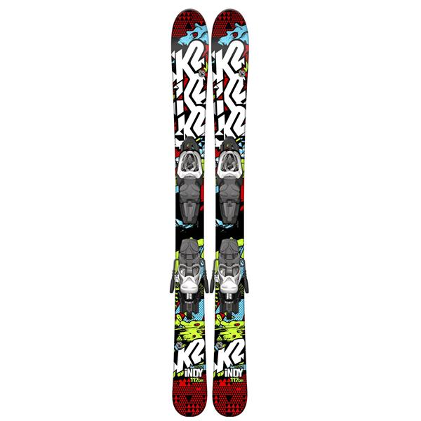 K2 Indy Kids Skis w/ Marker Fastrak2 4.5 Bindings