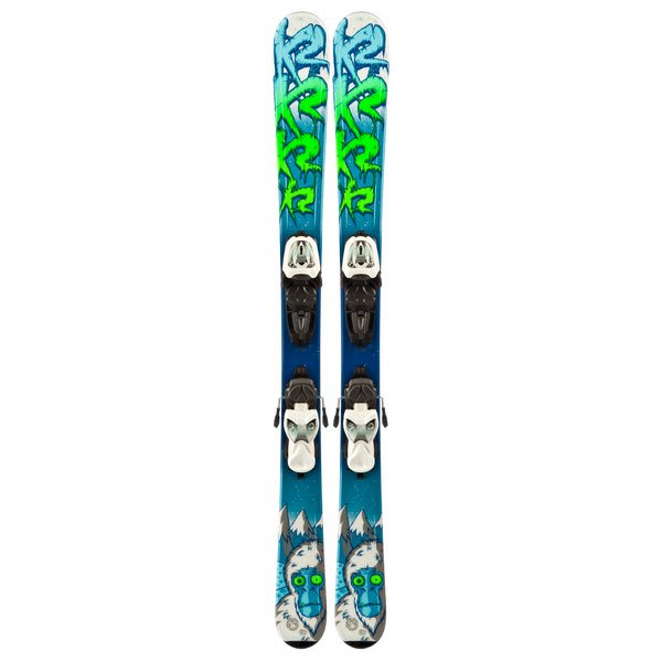 K2 Indy Skis w/ Marker Fastrak2 4.5 Bindings