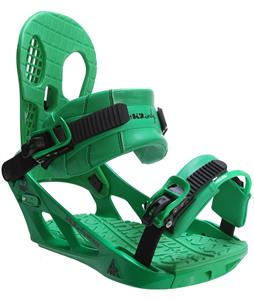 K2 Indy Snowboard Bindings Green