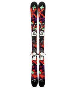 K2 Juvi Skis w/ Marker Fastrak2 7 Bindings
