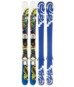 K2 Juvy Skis w/ Marker Fastrack2 7.0 Bindings
