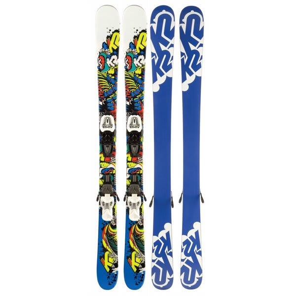 K2 Juvy Skis w/ Marker Fastrack2 7.0 Bindings