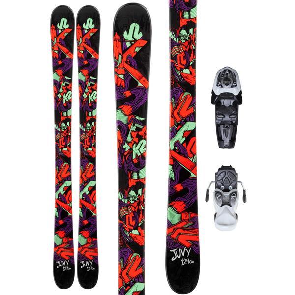 K2 Juvy Skis w/ Marker Fastrak2 7.0 Bindings
