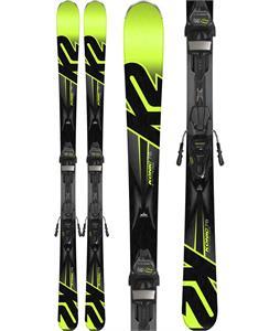K2 Konic 78 Skis w/ Marker M3 10 Compact Bindings