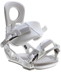 K2 Lien AT Snowboard Bindings White