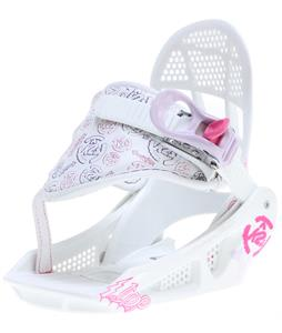 K2 Lil Kat Snowboard Bindings White