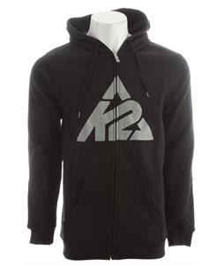 K2 Logo Full Zip Hoodie Black
