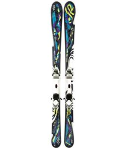 K2 Lotta Luv Skis w/ Marker ERS 11.0 TC Bindings