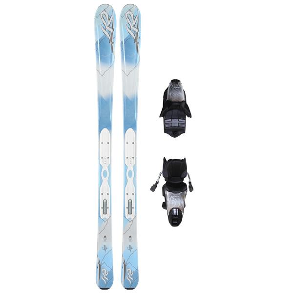 K2 Luna Skis w/ Marker Erp 10.0 Bindings