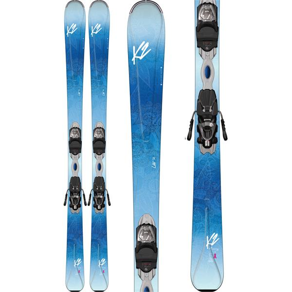 K2 Luv 75 Skis w/ Marker ERP 10 Bindings