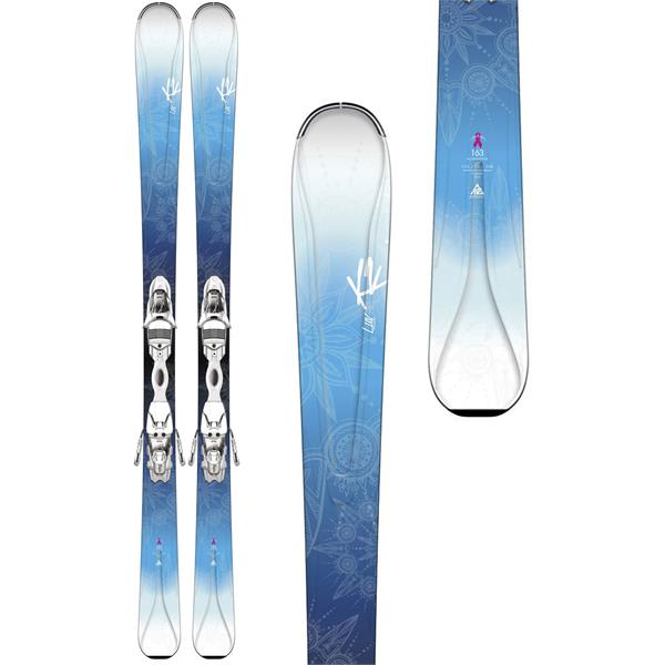 K2 Luv 75 Skis w/ Marker ER3 10 Bindings