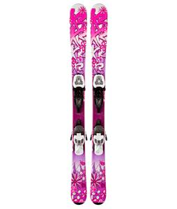 K2 Luv Bug Skis w/ Marker Fastrak2 4.5 Bindings