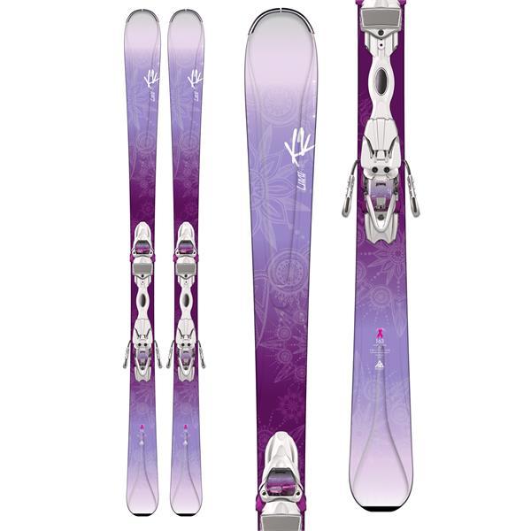 K2 Luvit 76 Skis w/ Marker Quikclik ER3 10 Q Bindings