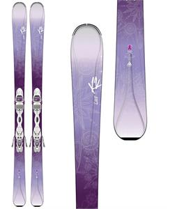 K2 Luvit 76 Skis w/ Marker ER3 10 Bindings