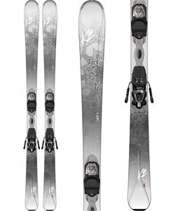 K2 Luvit 76 Skis w/ Marker ERP 10 Bindings
