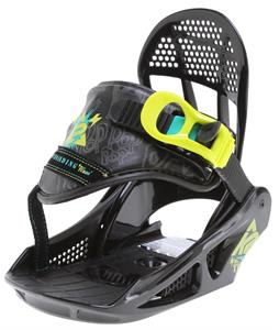 K2 Mini Turbo Snowboard Bindings Black