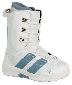 K2 Mink Snowboard Boots White/Blue Denim