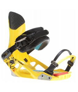 K2 National Snowboard Bindings Yellow