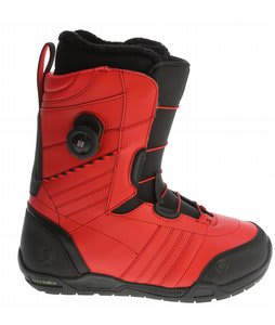 K2 New Black Snowboard Boots Red