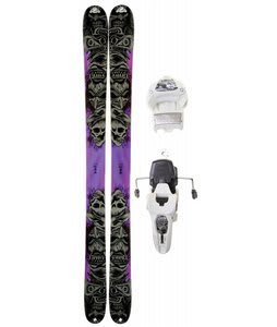 K2 Obsethed Skis w/ Marker Griffon 12.0 Shizofrantic Bindings