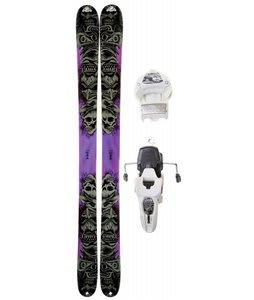 K2 Obsethed Skis w/ Marker Griffon 12.0 Shizofrantic Bindings