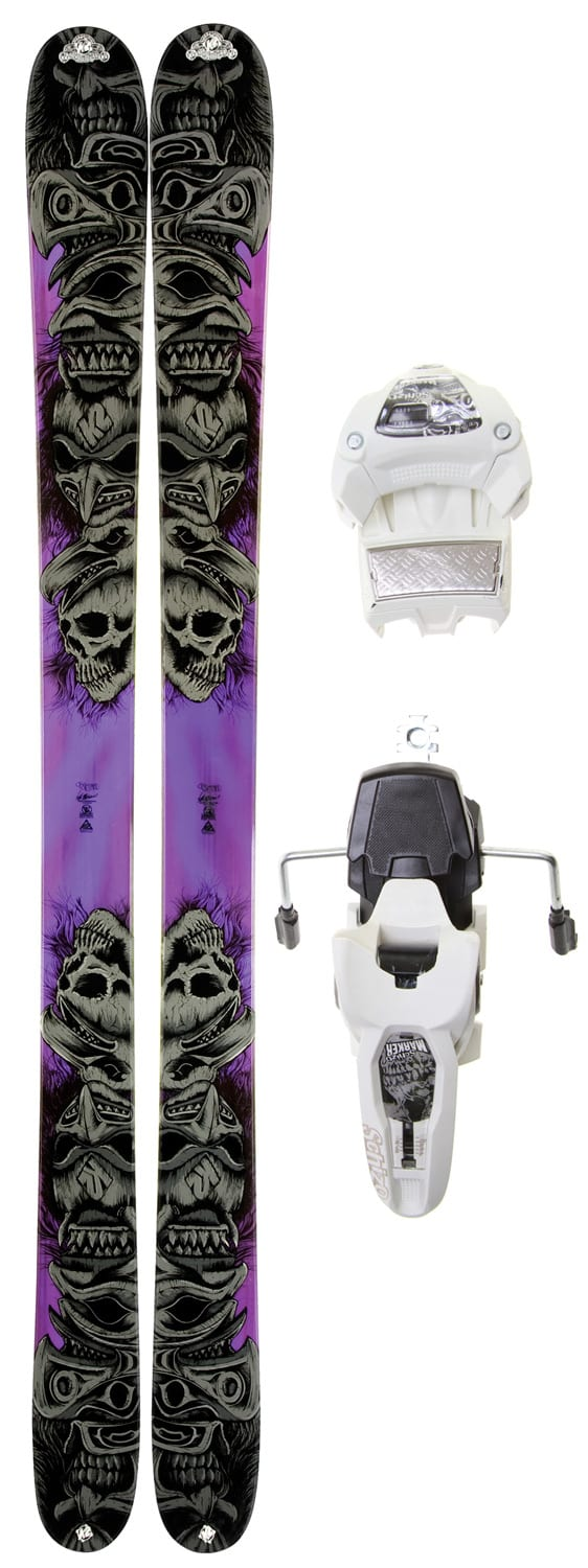 Shop for K2 Obsethed Skis w/ Marker Griffon 12.0 Shizofrantic Bindings - Men's
