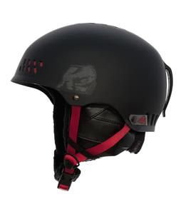 K2 Phase Pro Ski Helmet Black/Red