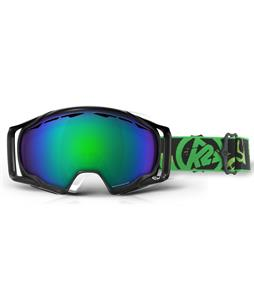 K2 Photokinetic Goggles Matte Black/Brown Green Octic