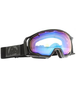 K2 Photokinetic Goggles Matte Black/Octic Burnt Orange/Blue Mirror Lens