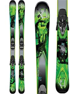 K2 Potion 74 XTI Skis w/ Marker ERC 11 TC Bindings