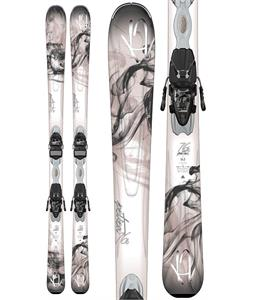 K2 Potion 76 TI Skis w/ Marker ER3 10 Demo Bindings