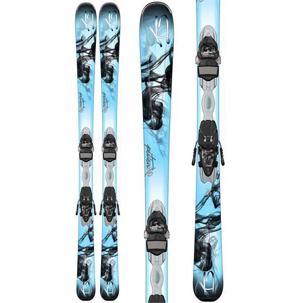 K2 Potion 76 Skis w/ Marker ER3 10 Bindings