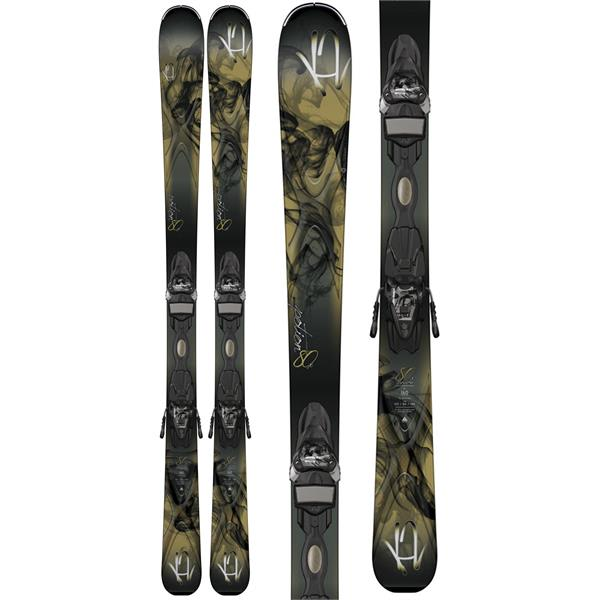 K2 Potion 80X Skis w/ Marker ER3 10 TC Bindings
