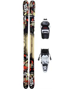 K2 Press DX Skis 179 w/ Marker M3 10.0 Bindings '13