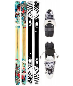 K2 Press Skis w/ Marker 10.0 Free Bindings