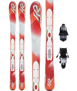 K2 Pure Skis w/ Marker Erp 10.0 Bindings